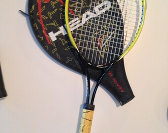 Andre Agassi Tennis Racquet w/case Radical Performance Agassi Spark