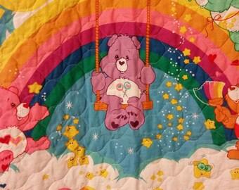 Care Bear Quilt--SUMMER SALE!!