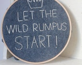 Nursery Wall Art - Grey - Wall Art - Let the Wild Rumpus Start