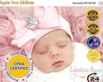 SALE READY TO Ship baby girl newborn hat, girl newborn, baby girl newborn outfit, girl newborn photo prop, baby girl newborn