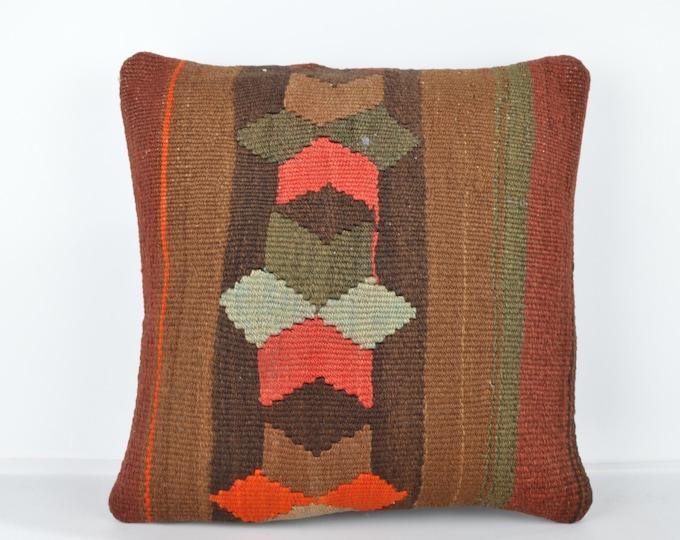 Decorative Pillows, KP826, Designer Pillows, Kilim pillow, Bohemian Decor, Wool Pillow,  Bohemian Pillow, Accent Pillows, Throw Pillows