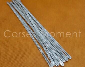 12 x Flexible Corset Bustier Spiral Steel Boning Corsetry Lingerie Supplies 4mm Wide