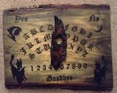 "Miniature Ouija Board / Spirit Board / ""Forever Night"""