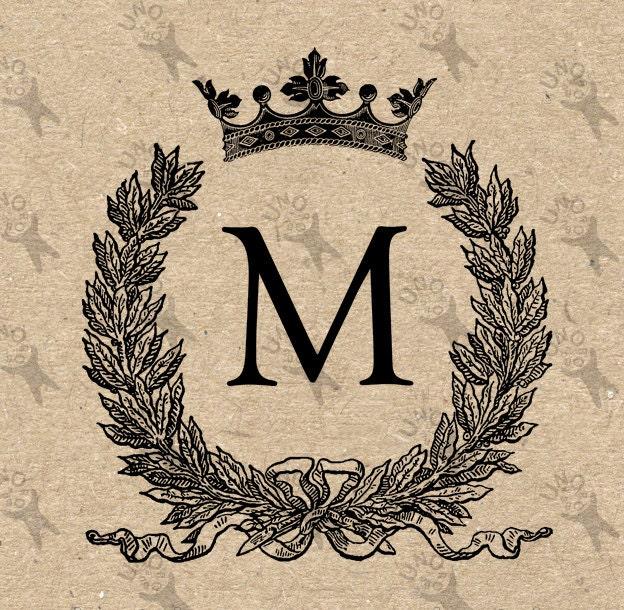 Vintage Letter M 18