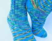 Hand Knit Wool Women Socks