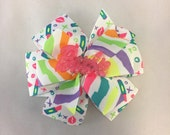 80's Glam Barbie Bow