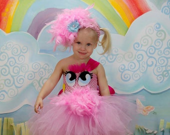 My Little Pony Costume - Pinkie Pie Costume - Pony Costume - Halloween Costume for Babies - Toddler Halloween Costume - My :Little Pony Tutu