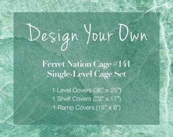 Ferret Nation Cage Custom Set (141) Single Level
