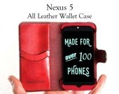 Nexus 5 Leather Wallet Ca...