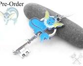 Eeveelution Pre-Order- Vaporeon Key Necklace