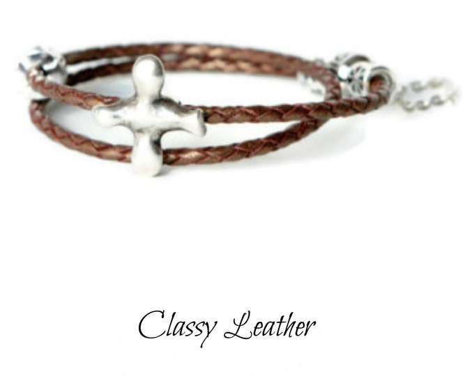 Leather bracelet, wrap bracelet, braided bracelet,women bracelet,leather wwomen leather bracelet,gift,wrap,bracelet wrap,women wrap,