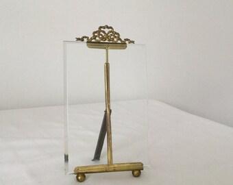 antique frame, brass, 19th century