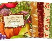 Wilmington Prints - Thankful Harvest - 5 Karat Mini Crystals Charm Pack