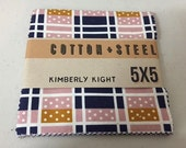 Cotton + Steel - Lucky Strike by Kim Kight - Charm Pack