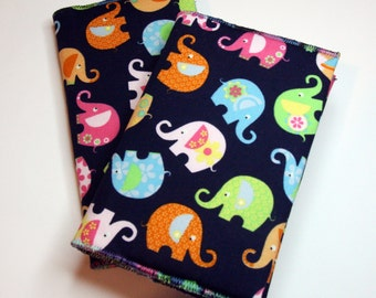 Rainbow Elephants 2016 / 2017 Academic Diary & Notebook / Journal Gift Set