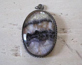 Mystery quartz pendant