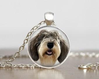 Petit Basset Griffon Vendeen PBGV Dog Pendant Necklace or Keychain
