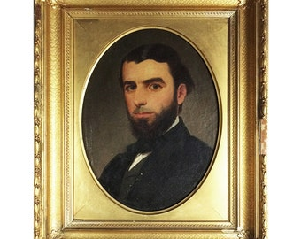 Early 19th Century Portrait Painting of a Gentleman
