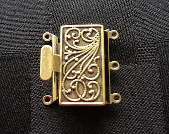 Brass Vintage Clasp