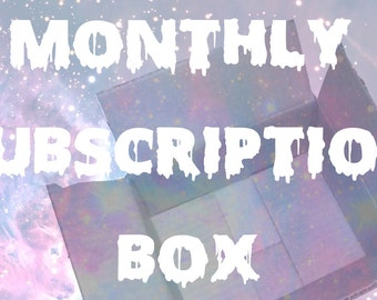 Subscription Box- PREORDER- SIX BOXES