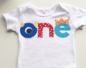 Monster Birthday Onesie First Ready to ship Birthday yellow gray Shirt photo prop