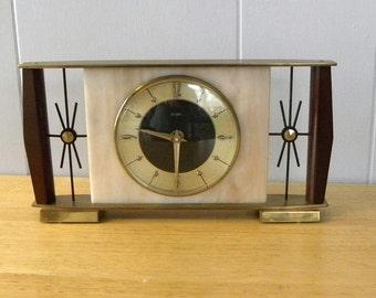 Metamec Recycled Mantel Shelf Battery Clock