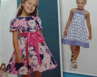 Simplicity 1924, Sewing Pattern, Girl's Dress Sizes 4-8