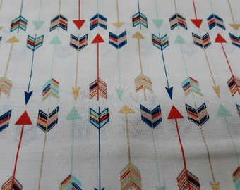 Arrow Feather Fabric by the yard
