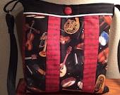 Unique Music Themed Shoulder Bag
