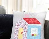 PDF Pattern: Schoolhouse Cushion (Beginner Friendly)