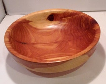 Cedar red bowl by ShopDrennan
