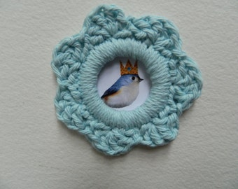 Picture Crochet Frame magnet