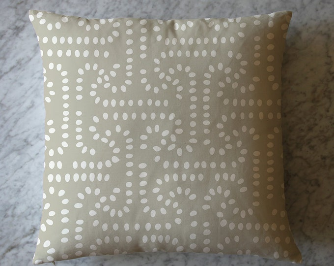 Pillow with Dots.  April 11, 2016