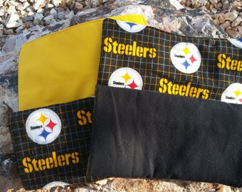 Pittsburgh Steelers Set of 2 Burp Cloths