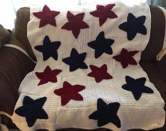 Star Spangled Throw