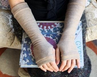 Womans Merino Fingerless Gloves - Fingerless Mittens - Wrist Warmers