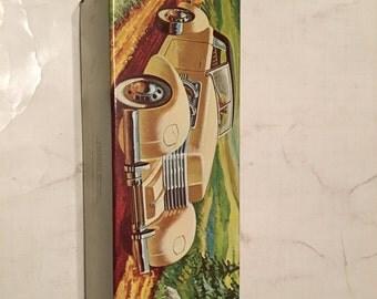 avon 1937 cord decanter in original box