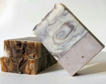 Sandalwood Vanilla Vegan Artisan Soap Bar