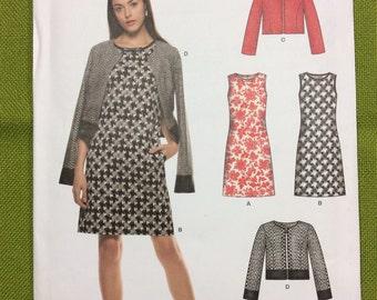 Misses' Dress and Jacket Pattern New Look K6302 - Uncut
