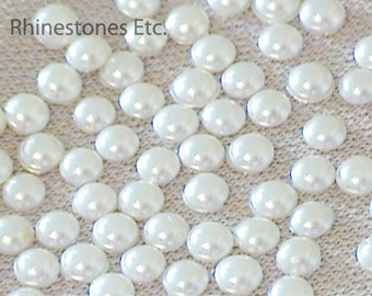 Pearls Swarovski 10ss Flat Back 1 gross (144 pieces)