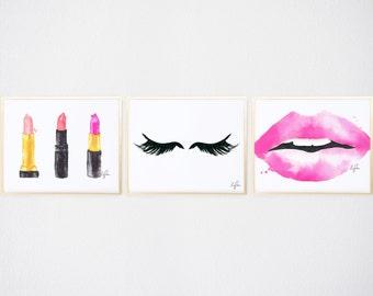 Lips & Lashes Trio