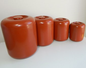 Vintage Trend Pacific Plastic Canister Set