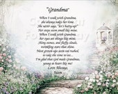 5 GRANDMA Personalized Gift Keepsakes