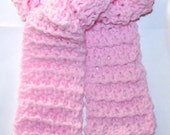 Child Scarf Simple Pattern Crochet Airy Lacy 3 Sizes Boy Girl Baby Toddler Use favorite size hook Simple Guide included by CzechBeaderyShop