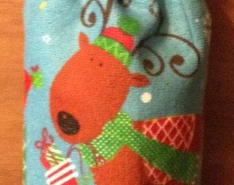 Plastic Bag Holder Christmas reindeer