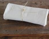 SECONDS -- Reusable Un paper Towels -- Organic Birdseye Unbleached Cotton  -- Set of 36
