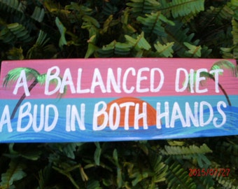A Balanced Diet A Bud In Both Hands