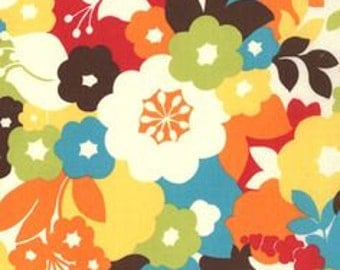 Oh Deer by Momo - Large Floral Blossom - Cotton Quilt Fabric - 1/2 yard cotton quilt fabric