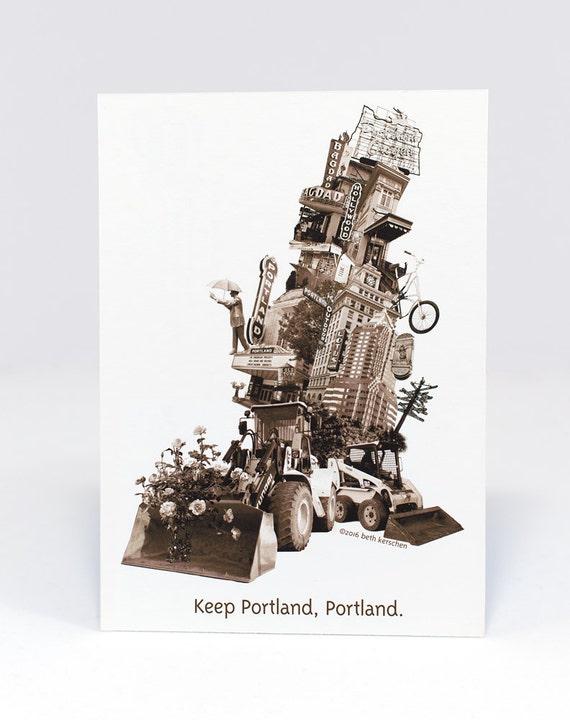 Keep Portland, Portland Postcard - single or set