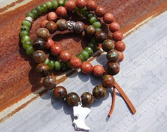 MN Charm Bracelet- Color: Cuyuna